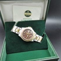 Rolex GMT MASTER 2-Tone 1675 Chocolate Nipple Dial with Box...