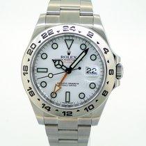 Rolex Explorer II 216570 White Dial 42mm
