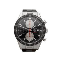 TAG Heuer Carrera Chronograph Stainless Steel Gents CV201T