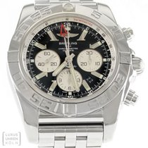 Breitling Uhr Chronomat GMT Edelstahl Automatik AB0410