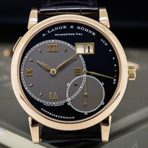 A. Lange & Söhne 115.031 Grand Lange 1 18K Rose Gold Black...