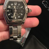 Cartier Roadster Automatic Stainless Steel Large Mens W62004v3...