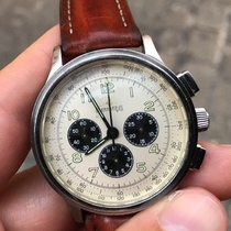 Eberhard & Co. Aviograf Chrono Chronograph acciaio 40 mm