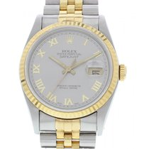 Rolex Oyster Perpetual Datejust 18K YG & SS 16233