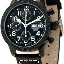 Zeno-Watch Basel NC Clou de Paris Chronograph Blacky