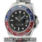 Rolex GMT-Master II 18k White Gold Ceramic Pepsi Bezel Red...