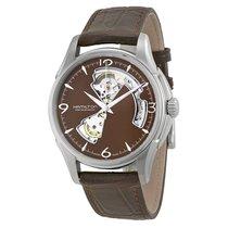 Hamilton Men's JazzMaster Open Heart Watch H32565595