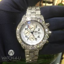 Breitling Super Avenger A13370 18.80ct VS Diamonds