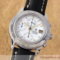 Girard Perregaux Chronograph Stahl Automatik Ref. 1030 Herrenuhr