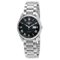 Longines Master Big Date Black Dial Automatic Men's Watch