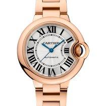 Cartier Ballon Bleu 33mm 18K Rose Gold Watch UNWORN