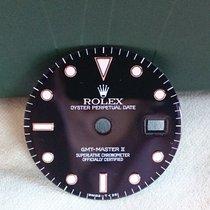 Rolex GMT Zifferblatt und Zeigersatz TRITIUM ++NEAR NOS++