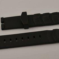TAG Heuer Kautschuk Armband Leder Dornschliesse 18mm