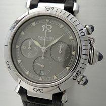 Cartier Pasha Chronograph Automatik 2113 -Box+Papiere