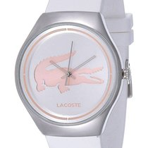 Lacoste Valencia Stainless Steel Womens Fashion Watch Silver...