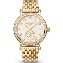 Patek Philippe Complications Moonphase Ladies 33mm Yellow Gold
