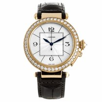 Cartier Pasha Rose Gold Diamond Watch (Pre-Owned)