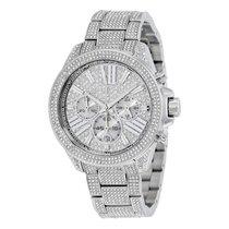 Michael Kors Chronograph Crystal Pave Dial Ladies Watch MK6317
