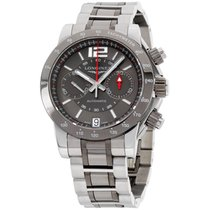 Longines Admiral Chronograph Automatic Grey Dial Men's 42...