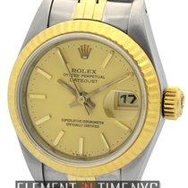 Rolex Datejust 26mm 2Tone Champagne Stick Dial Circa 1986 Ref....