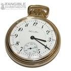Hamilton 10 Karat Gold 23 Jewel Pocket Watch Model #950 Circa...