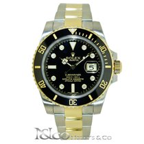 Rolex Submariner Date Two Tone with Original Diamond Dial