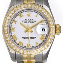 Rolex Datejust Steel & Gold 2-Tone Ladies Watch 179383...