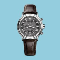 Raymond Weil Marstro Chronograph Grau, Lederband -NEU-
