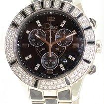 Dior Christal Cd11431c Diamonds Quartz Ladies Watch W/ Box...