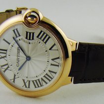Cartier Ballon Bleu 18kt Rose Gold Flat Large 40 mm