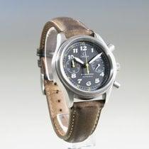 Omega Dynamic Chronograph, Stahl/Leder, Ref. 52905007