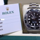 Rolex Sea Dweller Deepsea  Stainless Steel Box & Papers
