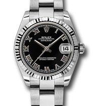 Rolex Watches: 178274 bkro Datejust 31mm - Steel Fluted Beze