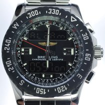 Breitling Mans Automatic Wristwatch Chronograph Airwolf Raven...