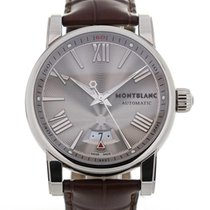 Montblanc Star Collection 42 Silver Guilloche Dial Automatic