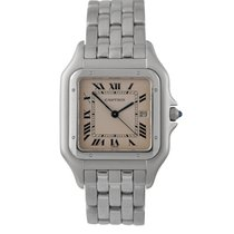 Cartier Gents Panthere in Stainless Steel, Ref: 1660