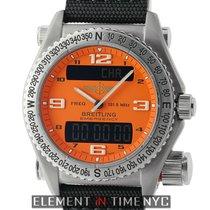 Breitling Emergency Titanium 43mm Orange Dial