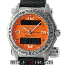 Breitling Emergency Titanium 43mm Orange Dial Ref. E56321