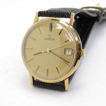 Omega Vintage 9Carat Mechanical Movement Gents Watch with...