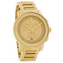 Movado Bold Ladies Champagne Dial Swiss Chronograph Watch 3600209
