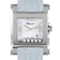 Chopard Happy Sport Square XL Womens Quartz Watch 288447-3001