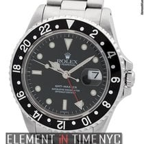 Rolex GMT-Master Stainless Steel Black Dial 40mm