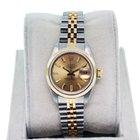 Rolex Datejust Ladies 69163 Stainless and  Gold Watch