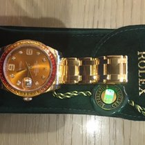 Rolex Datejust Pearlmaster 39mm, Olive Green Diamond Dial ,...