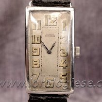 Longines Tempo 1925 Sterling Silver 0.875 Hinged Case Xl Tank...