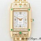 Jaeger-LeCoultre Reverso Lady Gelbgold 750 Diamanten Smaragde...