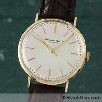 IWC Schaffhausen 18k Gold Portofino Handaufzug Vintage