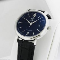 IWC NEW 40mm Portofino Automatic Black Dial Box and Papers...