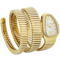 Bulgari Tubogas Serpenti 35mm Yellow Gold Double Spiral