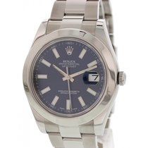 Rolex Oyster Perpetual Datejust II 116300 Blue Dial